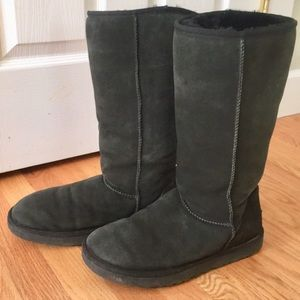 Tall Black UGG Boots
